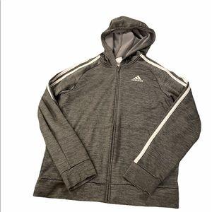 Adidas Boys Zip Up Jacket Size 10/12